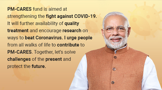 PM Message For COVID-19