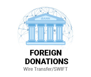 Foreign Wire Transfer Donation