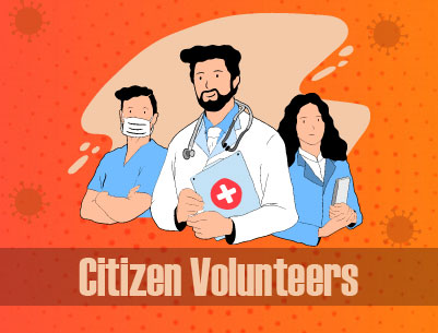 Register as COVID-19 Volunteer